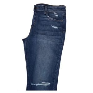 Joe's Jeans The Olivia mid rise cropped flare